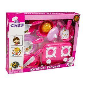 Junior chef kid's Kitchen play set